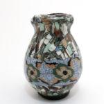 Jean Gerbino vase mikro mosaik keramik