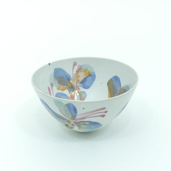 Torsten Mosumgaard, Skål, Keramik, Studio, stentøj, sommerfugle