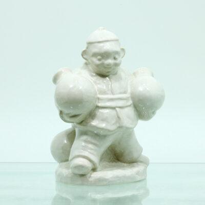 vandbære figur keramik