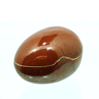 æg lågkrukke keramik
