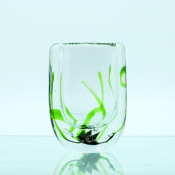 Vase glas søgræs