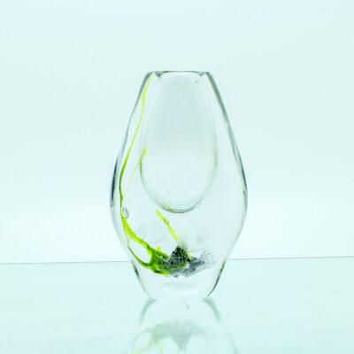 vase fisk søgræs glas