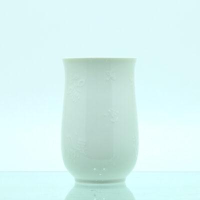 vase relief porcelæn