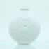 vase kvinde porcelæn relief