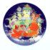 person hest farver platte porcelæn