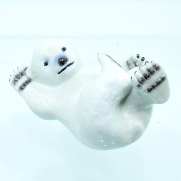 isbjørn figur porcelæn